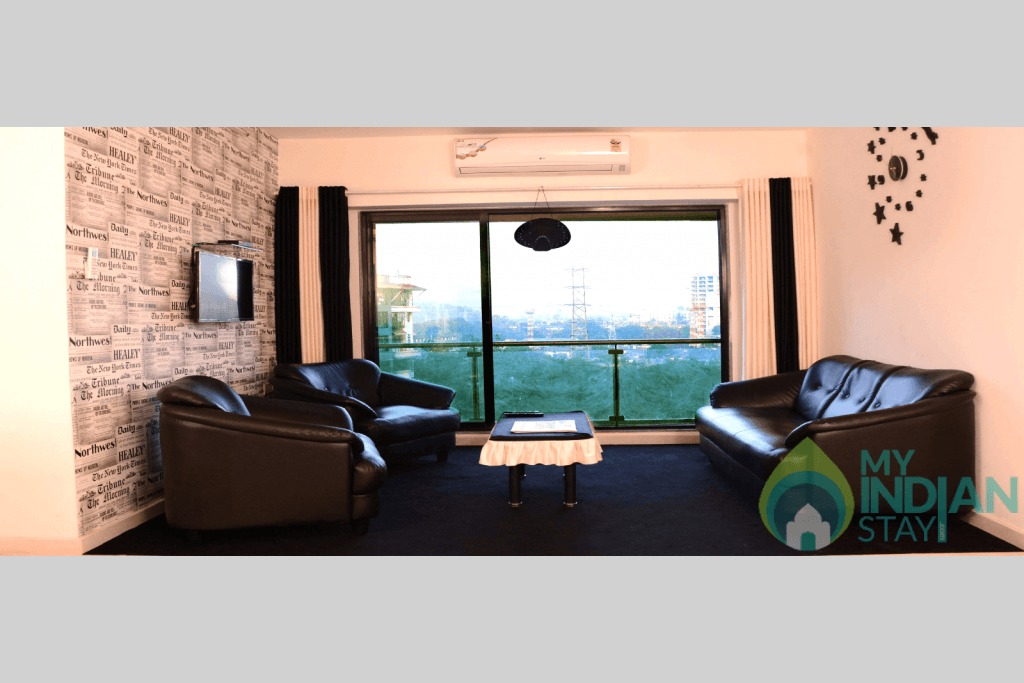 2 in a Serviced Apartment in Mumbai, Maharashtra