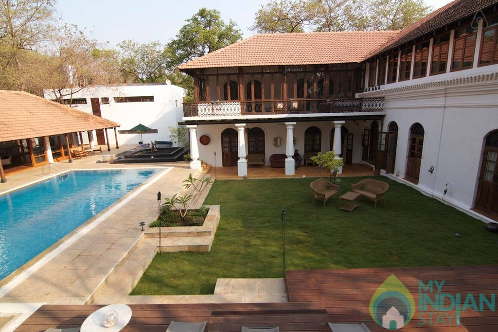 Over all view in a Villa in Moira, Goa