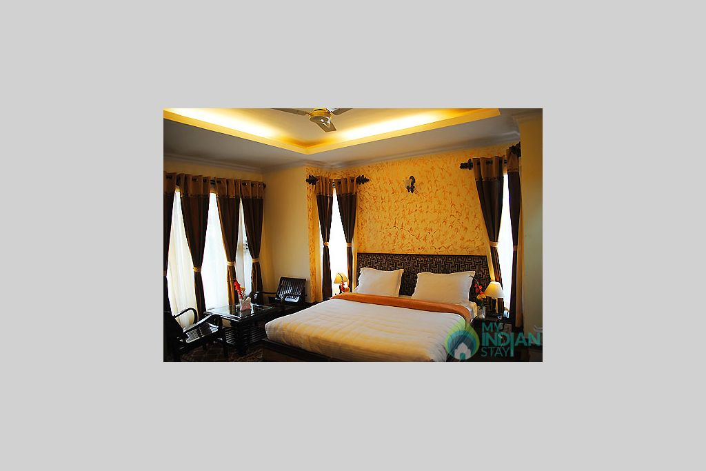super deluxe bedroom in a Guest House in Dharamshala, Himachal Pradesh