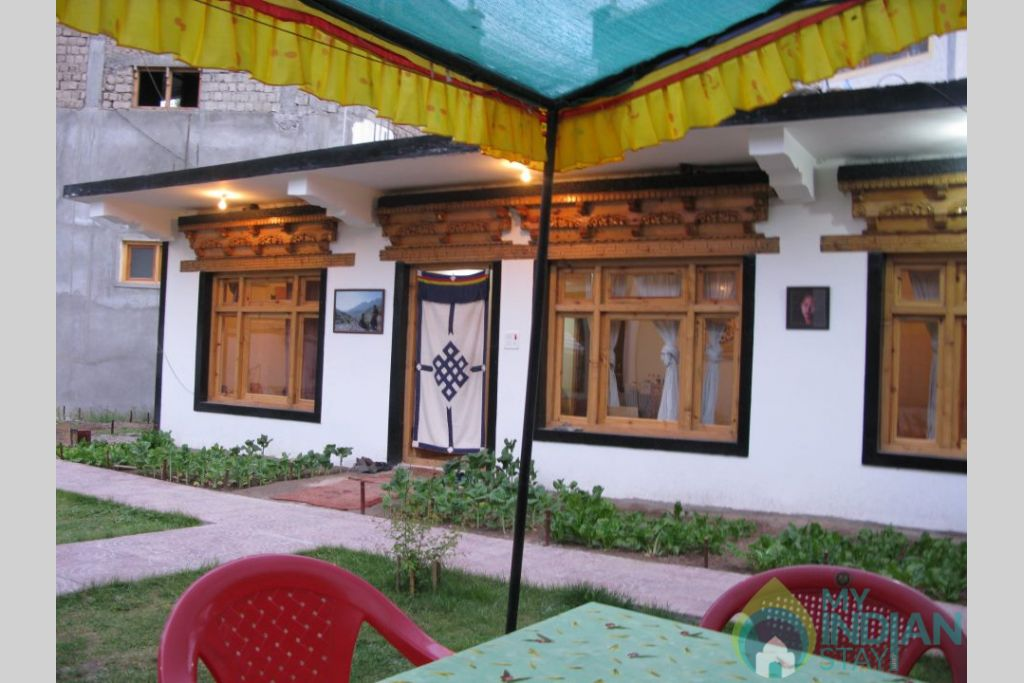 Front View in a Guest House in Leh, Jammu and Kashmir