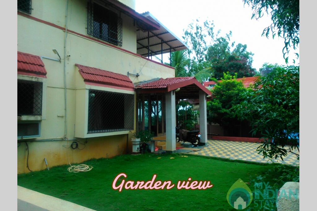 3 Garden view in a Independent Bungalow in Lonavala, Maharashtra