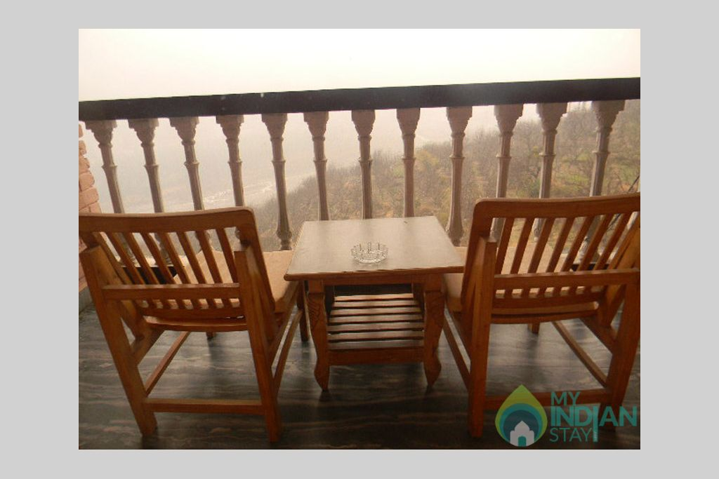 Balcony in a Guest House in Manali, Himachal Pradesh