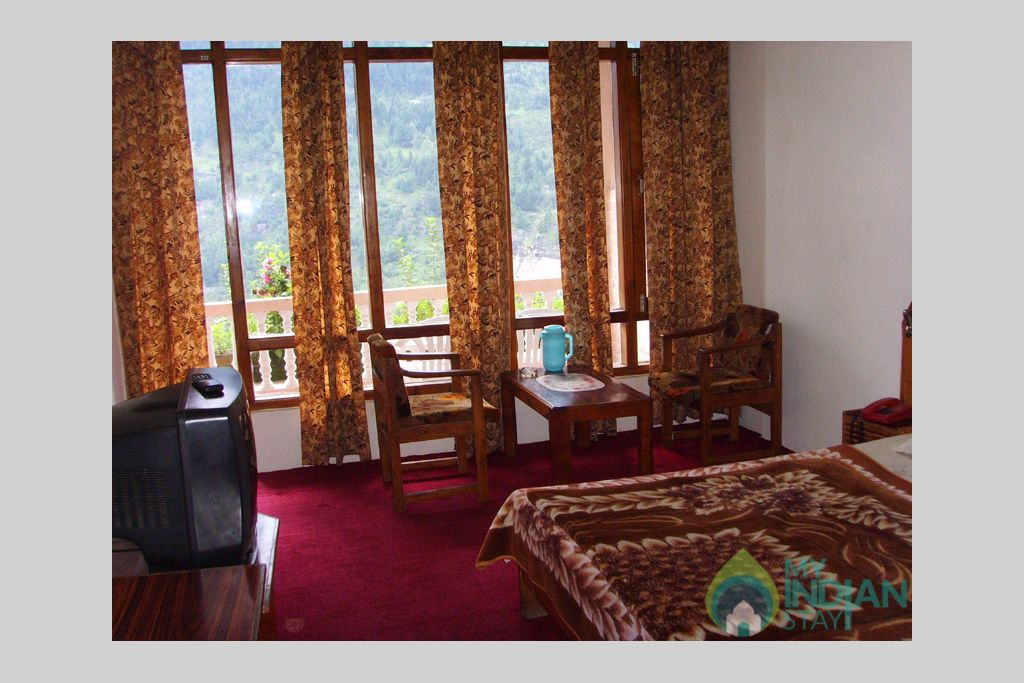 Executive room in a Guest House in Manali, Himachal Pradesh