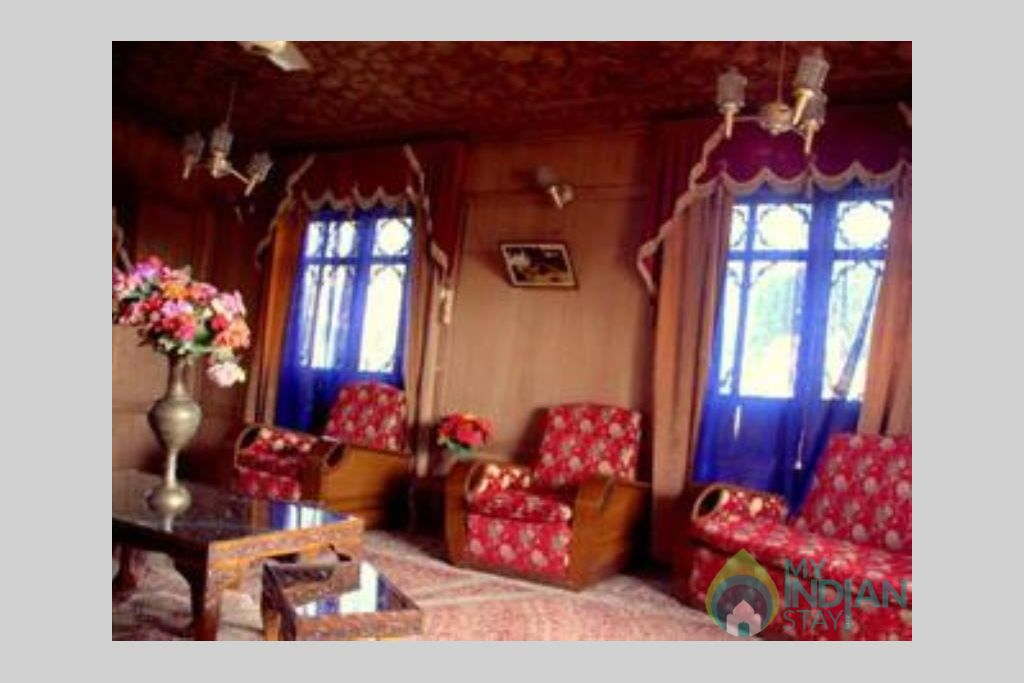 Sitting Area 2 in a Guest House in Srinagar, Jammu and Kashmir