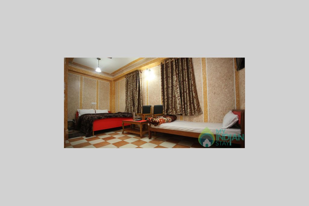Triple Bed Room 2 in a Bed & Breakfast in Srinagar, Jammu and Kashmir