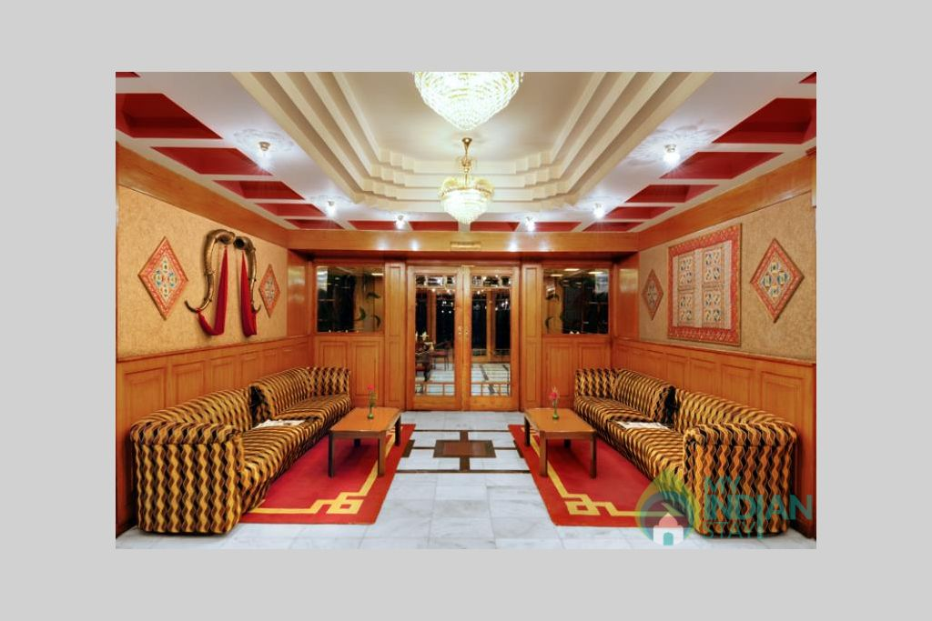 Lobby-big in a Guest House in Manali, Himachal Pradesh