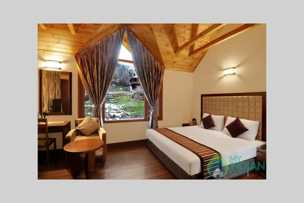Cottage-bed-room-big in a Cottage/Huts in Manali, Himachal Pradesh