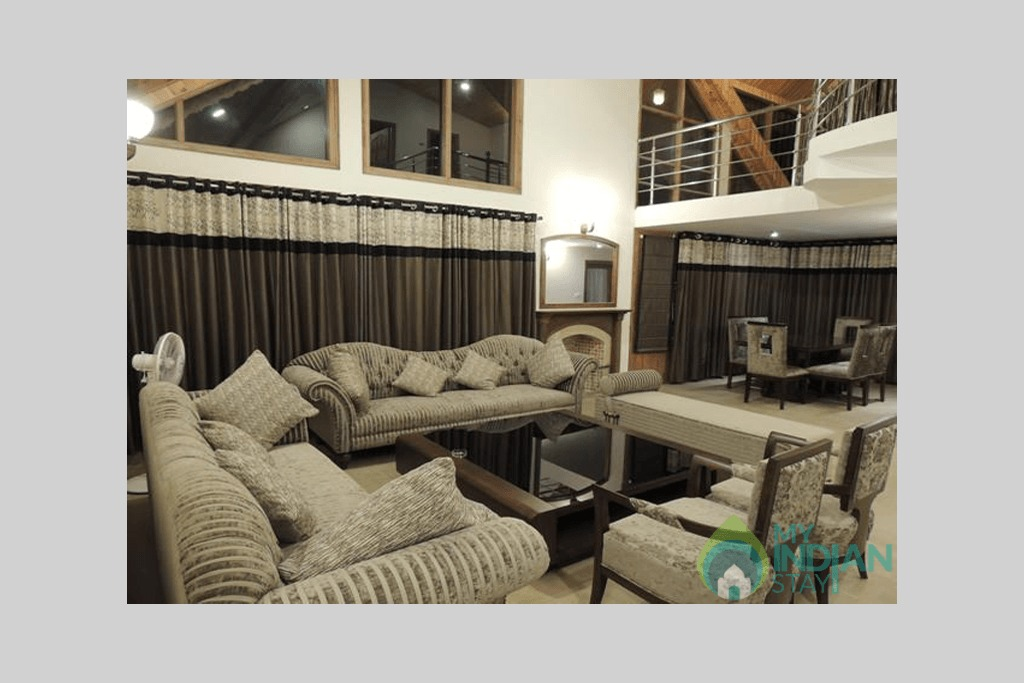 Cottage-living-room-big in a Cottage/Huts in Manali, Himachal Pradesh