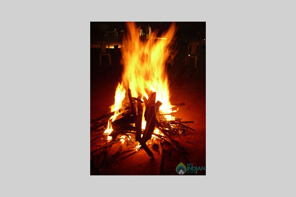 facilities_bonfire in a Bed & Breakfast in Madikeri, Karnataka