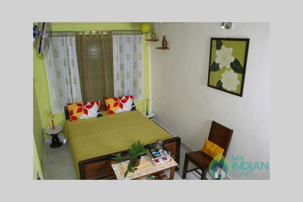 green_room in a Bed & Breakfast in Madikeri, Karnataka
