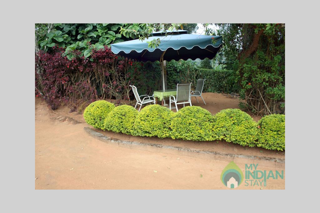 outdoor_canopy in a Bed & Breakfast in Madikeri, Karnataka