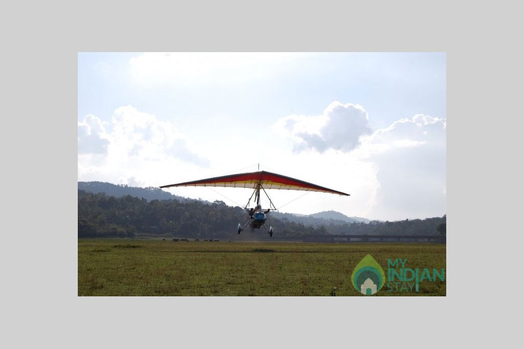 ultralight_flight in a Bed & Breakfast in Madikeri, Karnataka