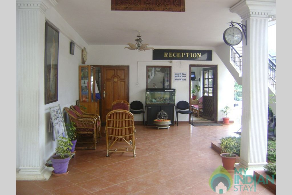 REception area in a Cottage/Huts in Ooty, Tamil Nadu
