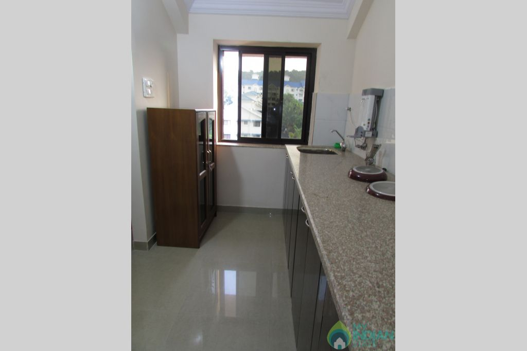 Kitchen 3  in a Serviced Apartment in Siolim, Goa