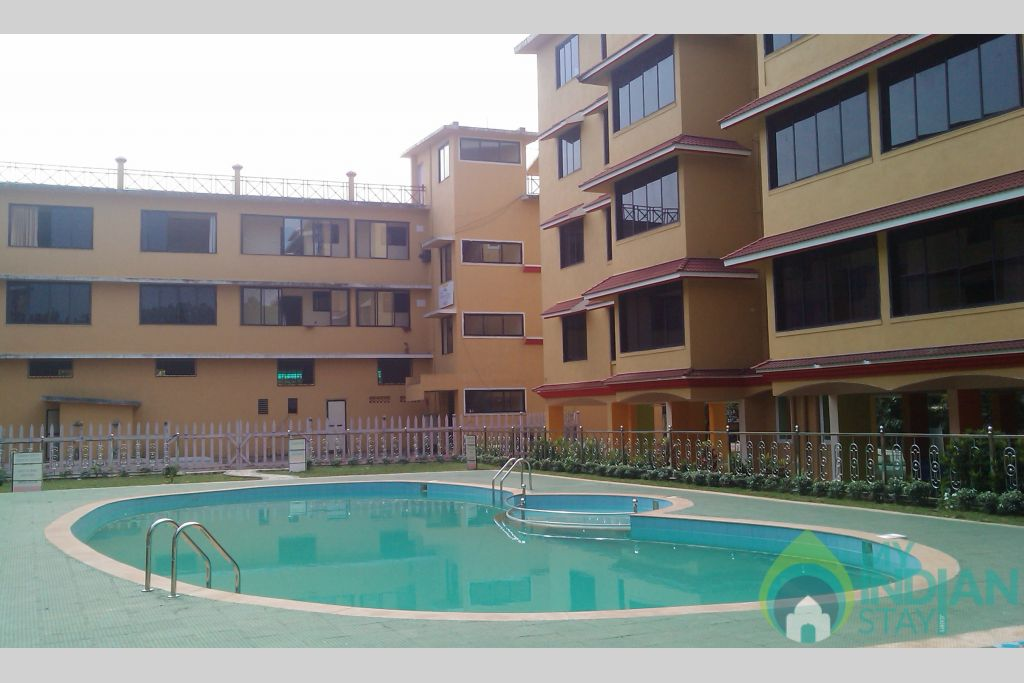 Building 1 in a Serviced Apartment in Vagator, Goa