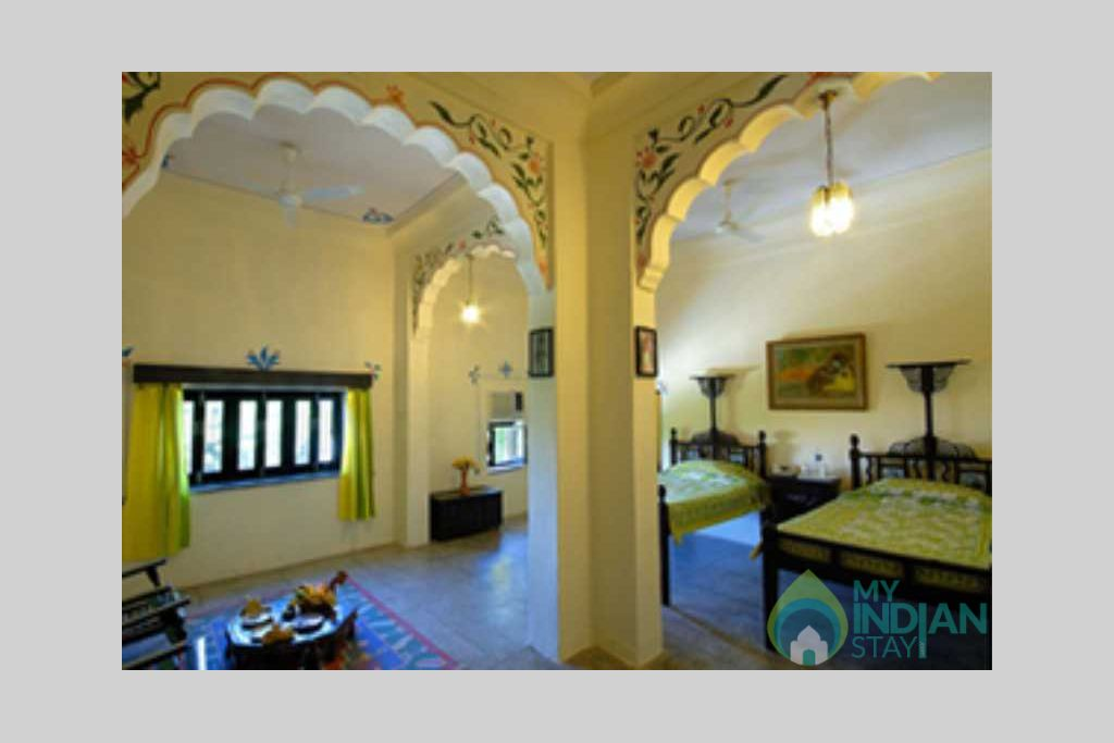 bedroom in a Bed & Breakfast in Jodhpur, Rajasthan