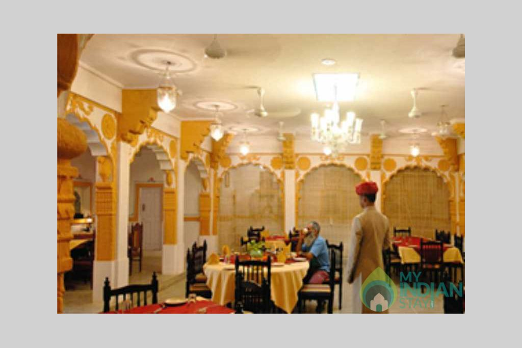 dining room in a Bed & Breakfast in Jodhpur, Rajasthan