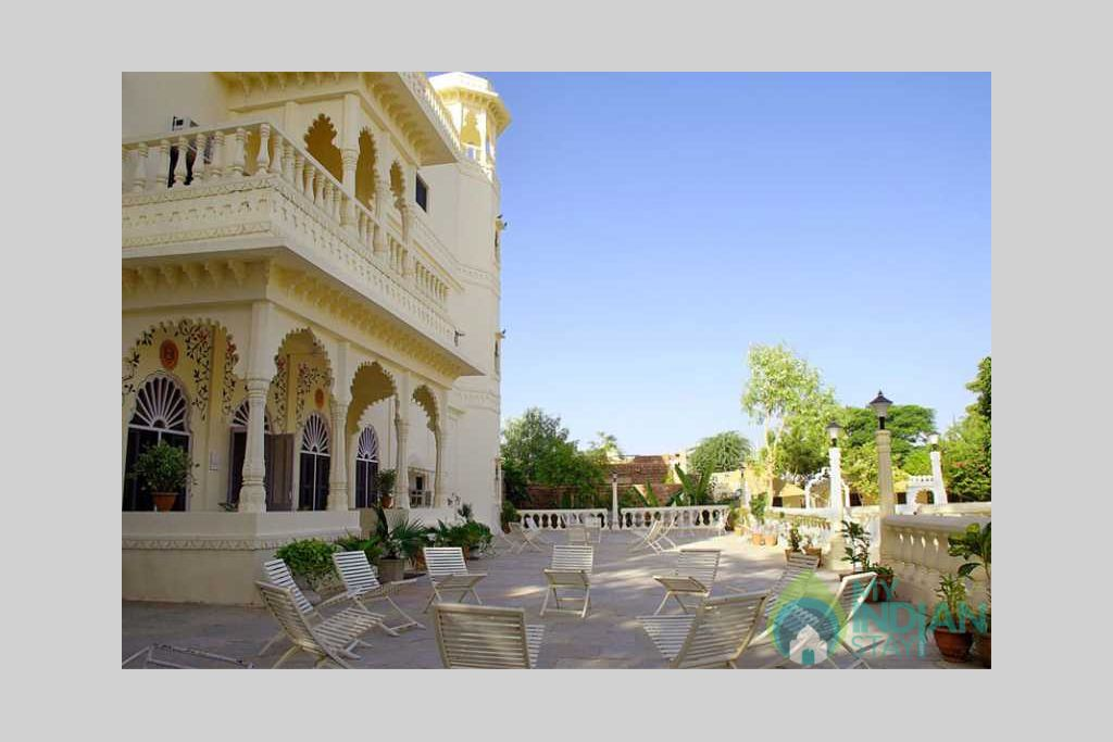 outer view in a Bed & Breakfast in Jodhpur, Rajasthan