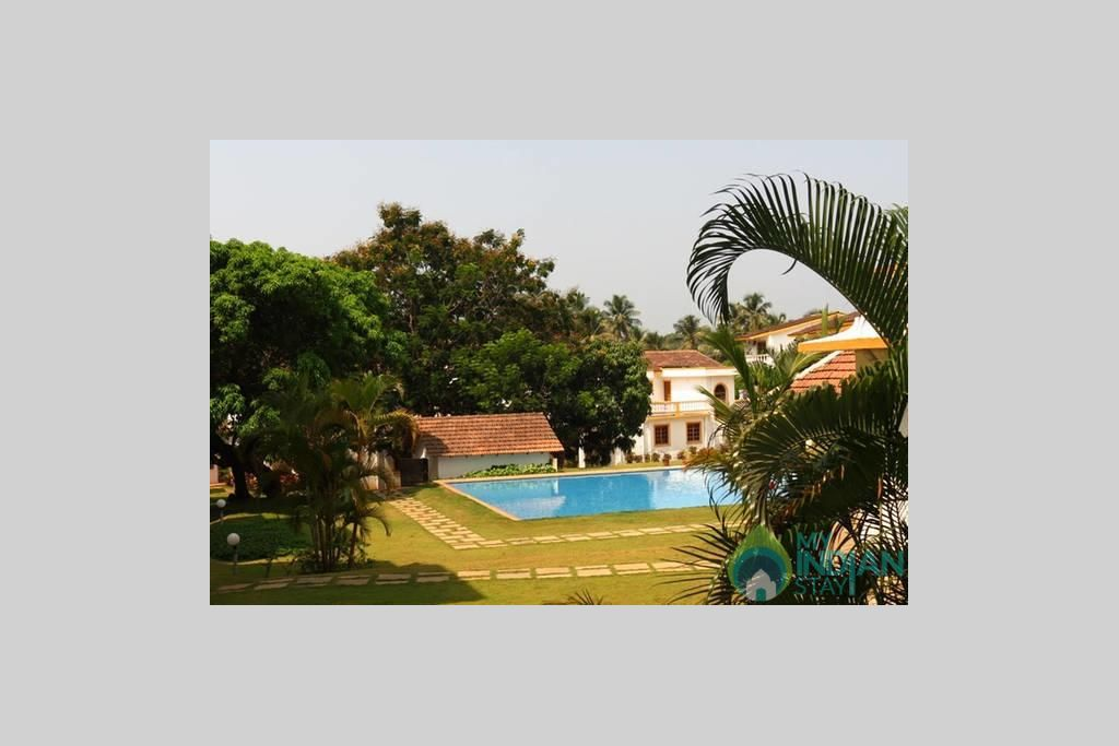 CM040-OUTER4 in a Serviced Apartment in Candolim, Goa