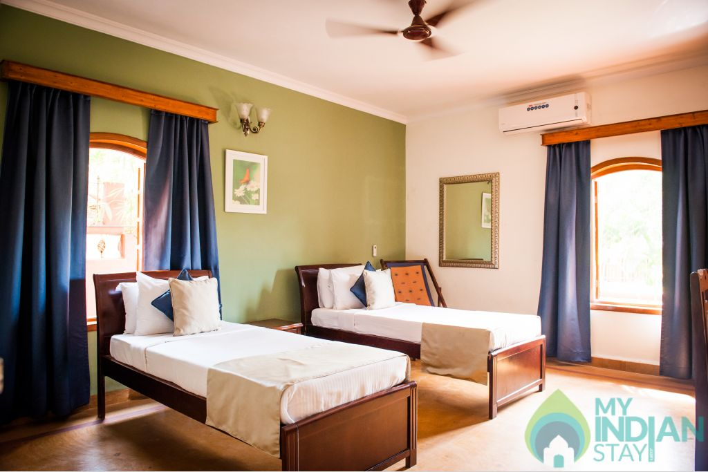 2 bhk std villa room in a Villa in Candolim, Goa