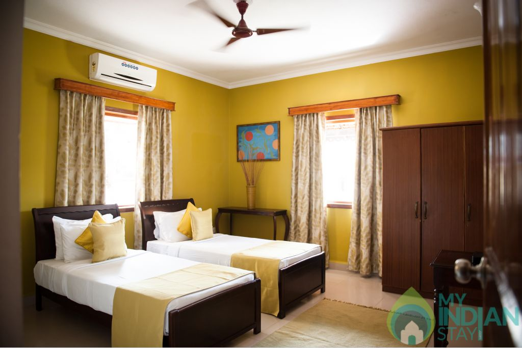 2bhk std villa room in a Villa in Candolim, Goa