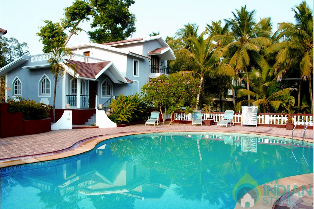 common pool in a Villa in Candolim, Goa