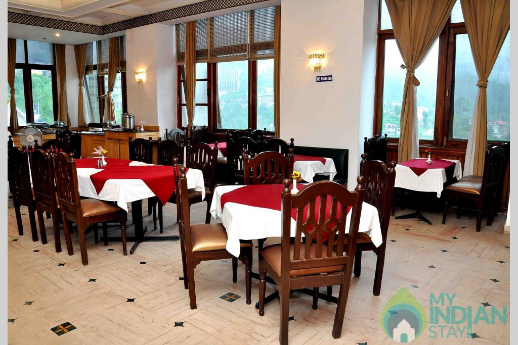 dinning in a Guest House in Shimla, Himachal Pradesh