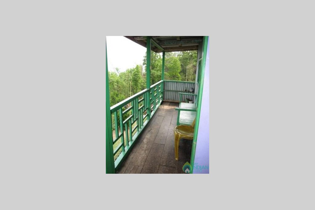 Balcony in a HomeStay in Darjeeling, West Bengal