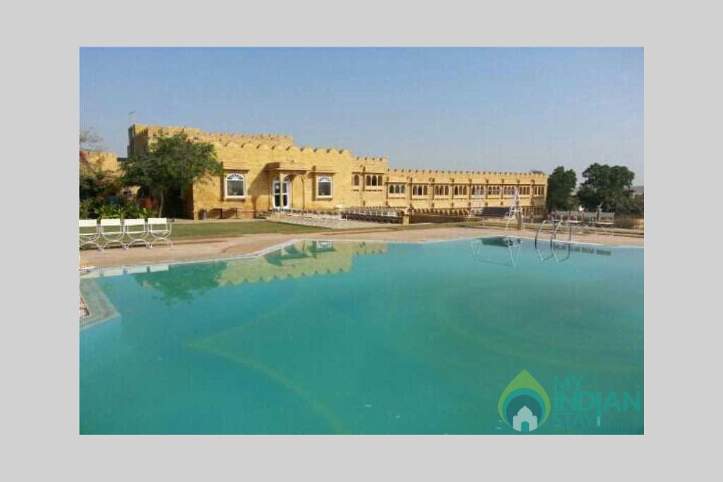 swiming pool, in a Resort in Jaisalmer, Rajasthan