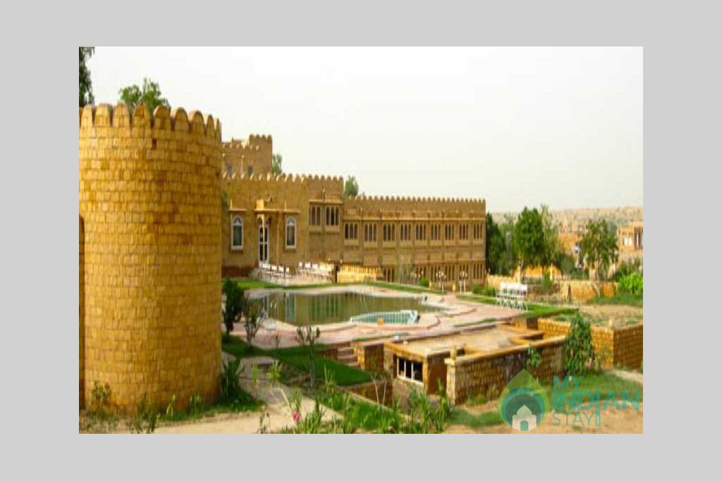 view in a Resort in Jaisalmer, Rajasthan