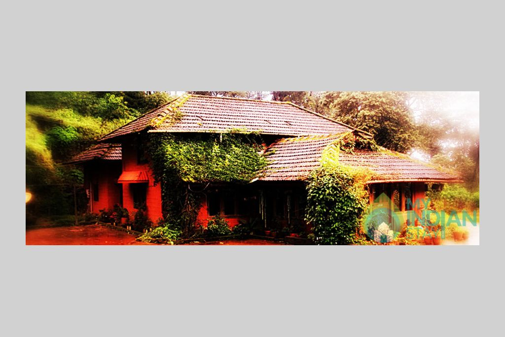 outer view in a HomeStay in Madikeri, Karnataka