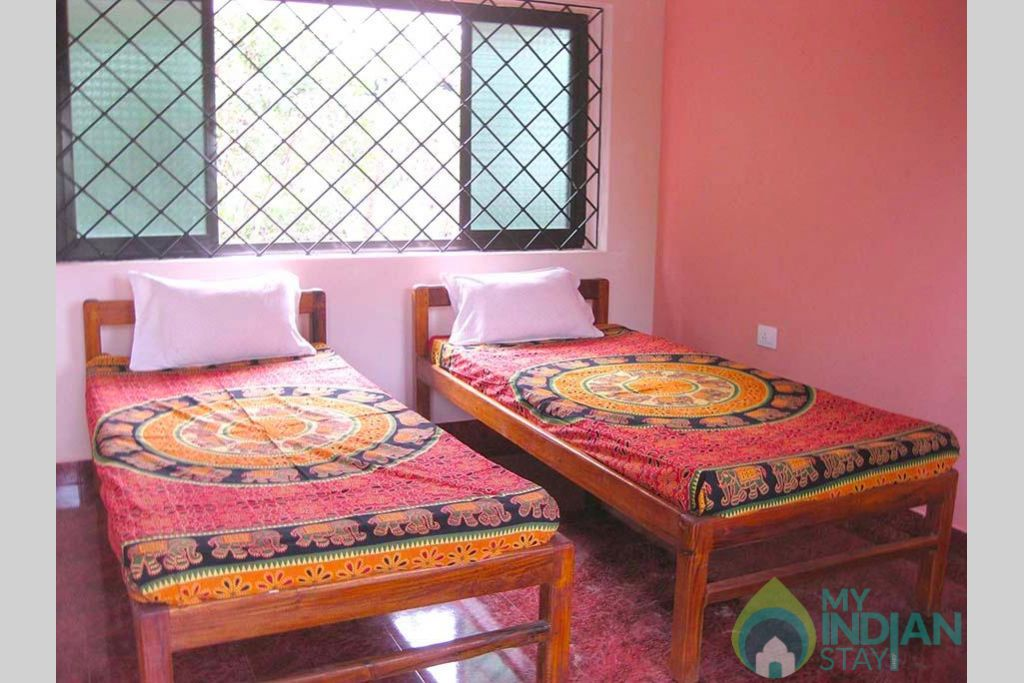 Double bedroom in a Guest House in Anjuna, Goa