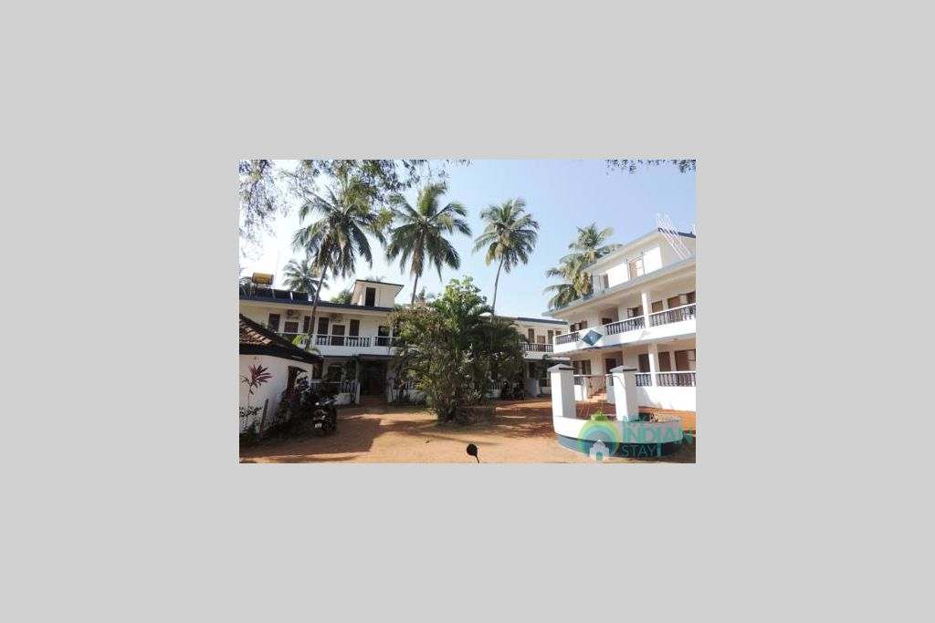 front view in a Guest House in Anjuna, Goa