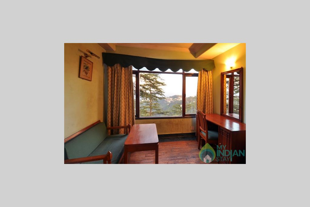 Sitting Area in a Guest House in Shimla, Himachal Pradesh