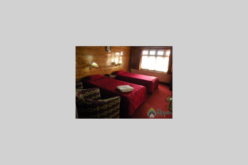 Bedroom in a Bed & Breakfast in Darjeeling, West Bengal