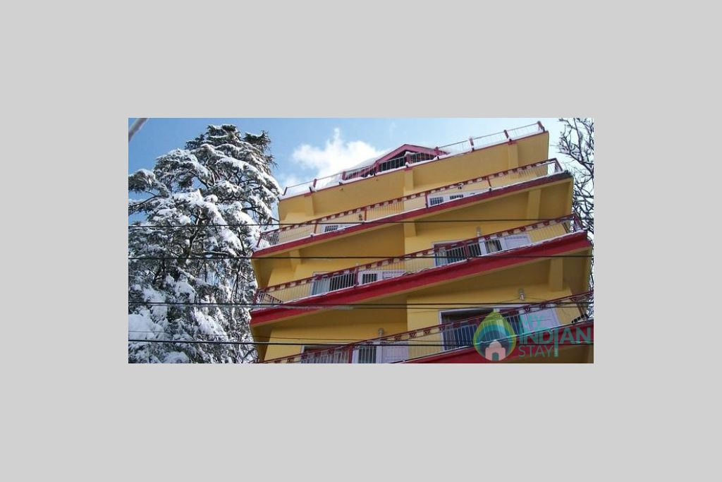 Exterior view in a Guest House in Shimla, Himachal Pradesh