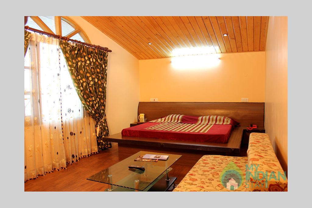 attic rooms in a Guest House in Shimla, Himachal Pradesh