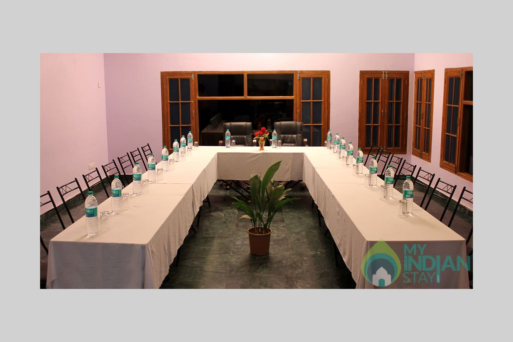 conference hall in a Guest House in Shimla, Himachal Pradesh