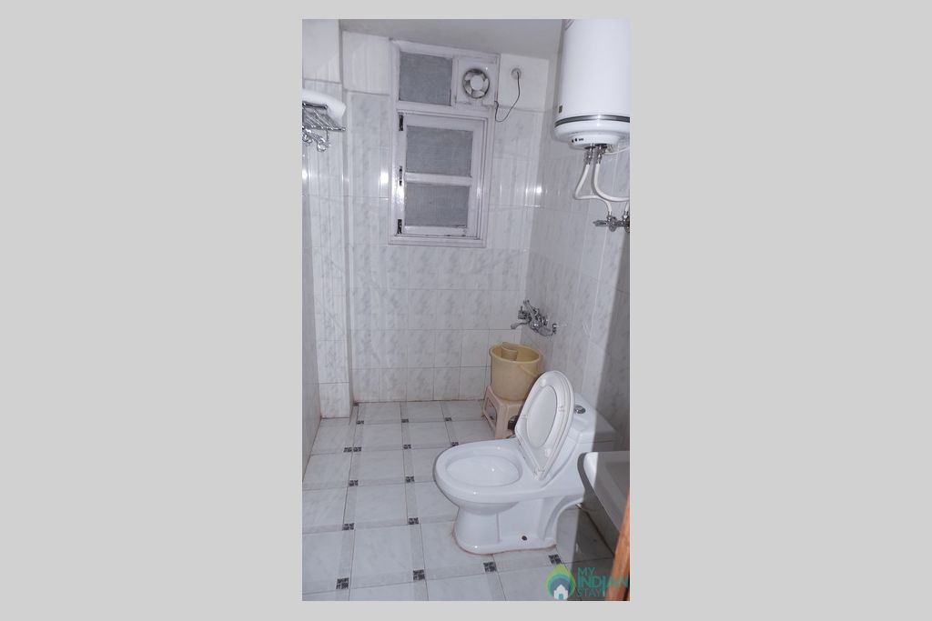 toilet in a Guest House in Shimla, Himachal Pradesh