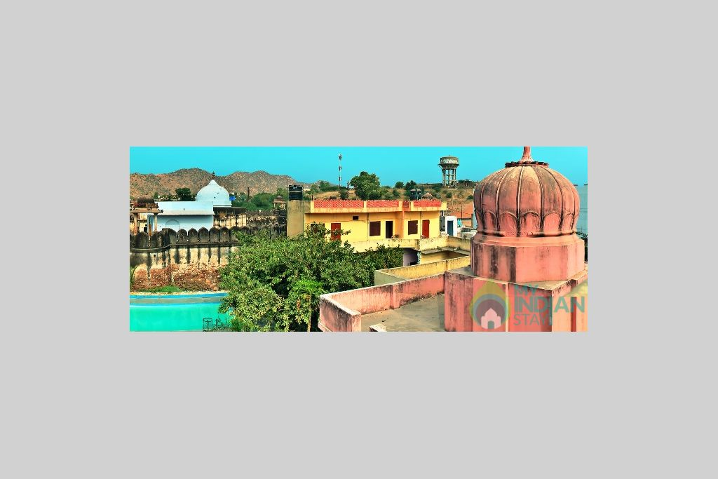 View in a Guest House in Pushkar, Rajasthan