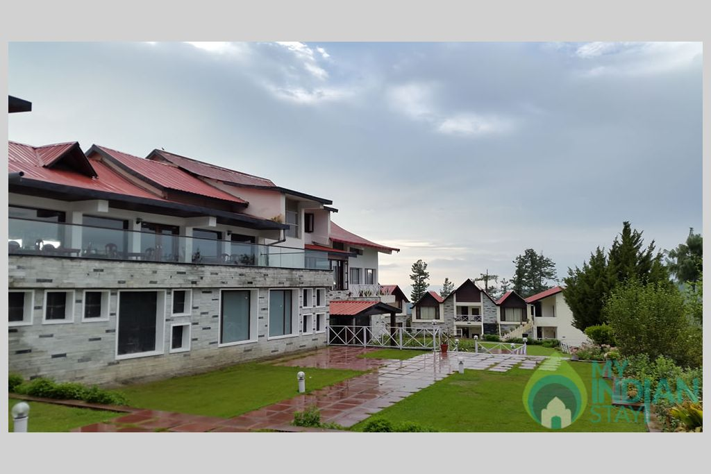 front view in a Guest House in Shimla, Himachal Pradesh