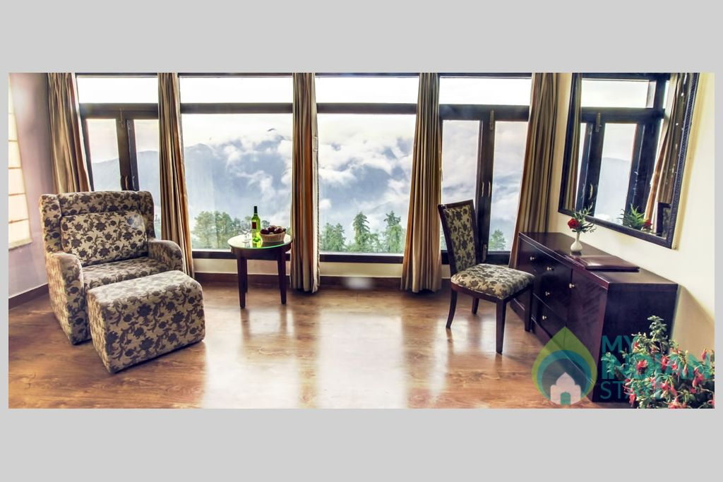 sitting place in a Guest House in Shimla, Himachal Pradesh