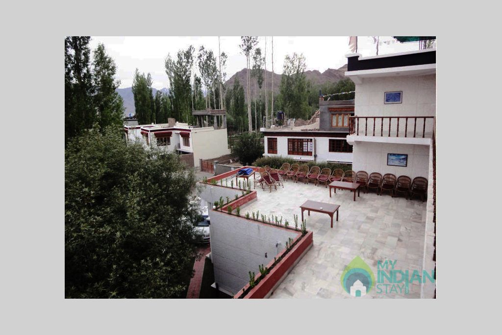 terece in a Guest House in Leh, Jammu and Kashmir