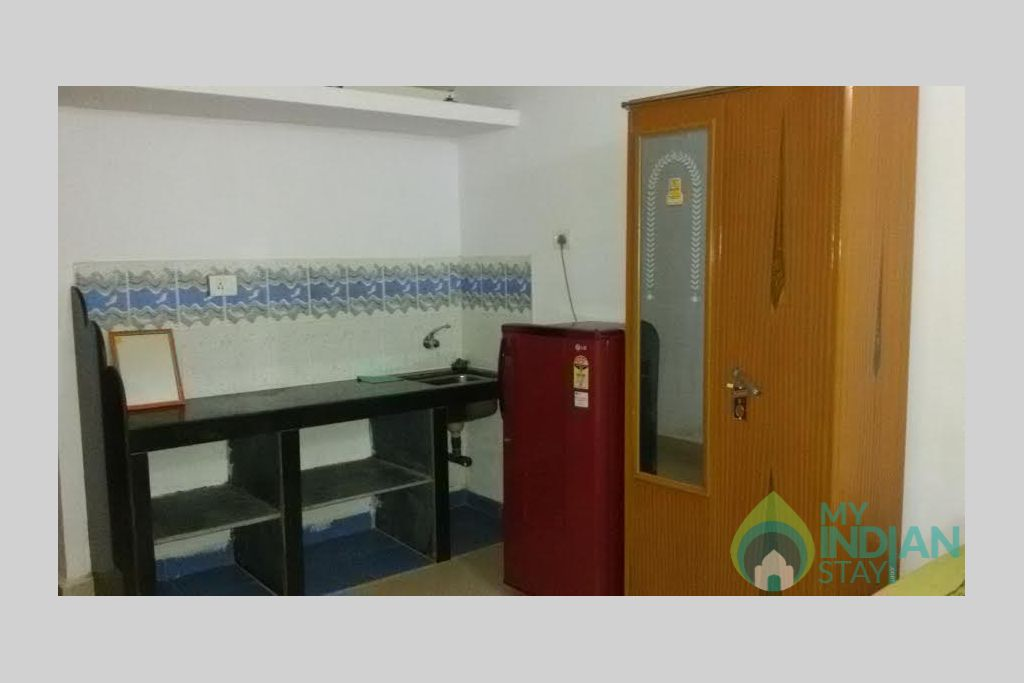 Deluxe double room in a Guest House in Arambol, Goa