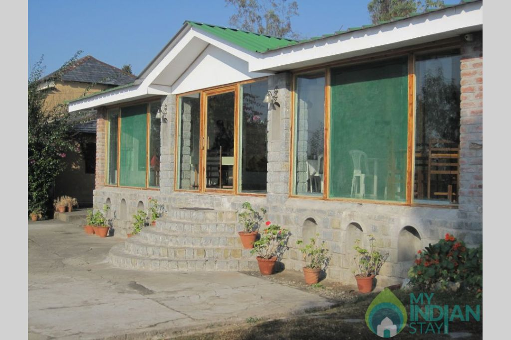 Outerview in a Resort in Kangra, Himachal Pradesh