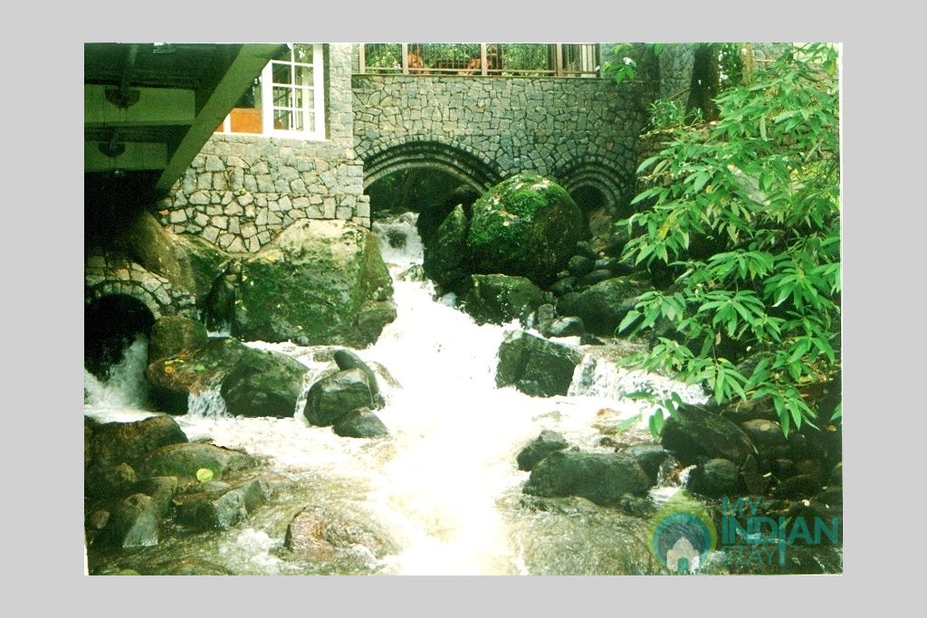 mayapott wild stream by the  rooms in a Villa in Idukki, Kerala
