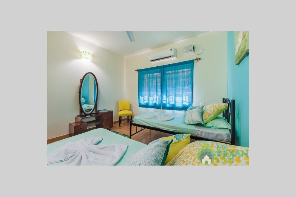 6-small-budget-house-for-rent-goa in a Villa in Calangute, Goa