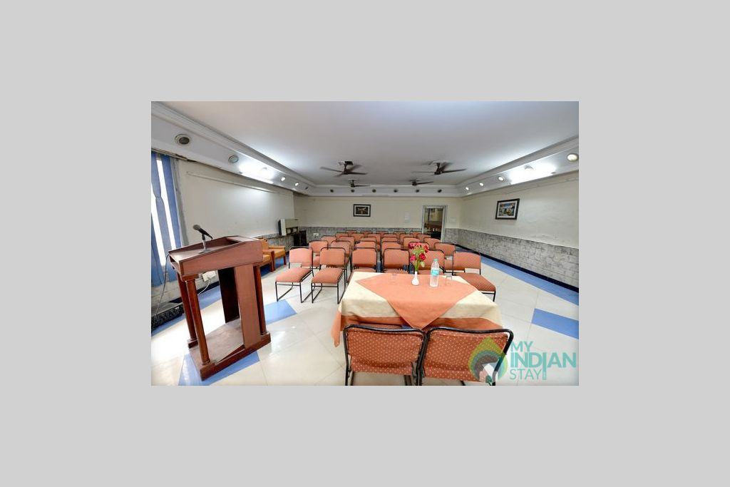 conference hall in a Guest House in Panipat, Haryana
