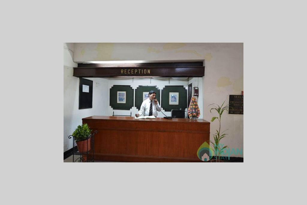 Front_Office_ in a Guest House in Panipat, Haryana