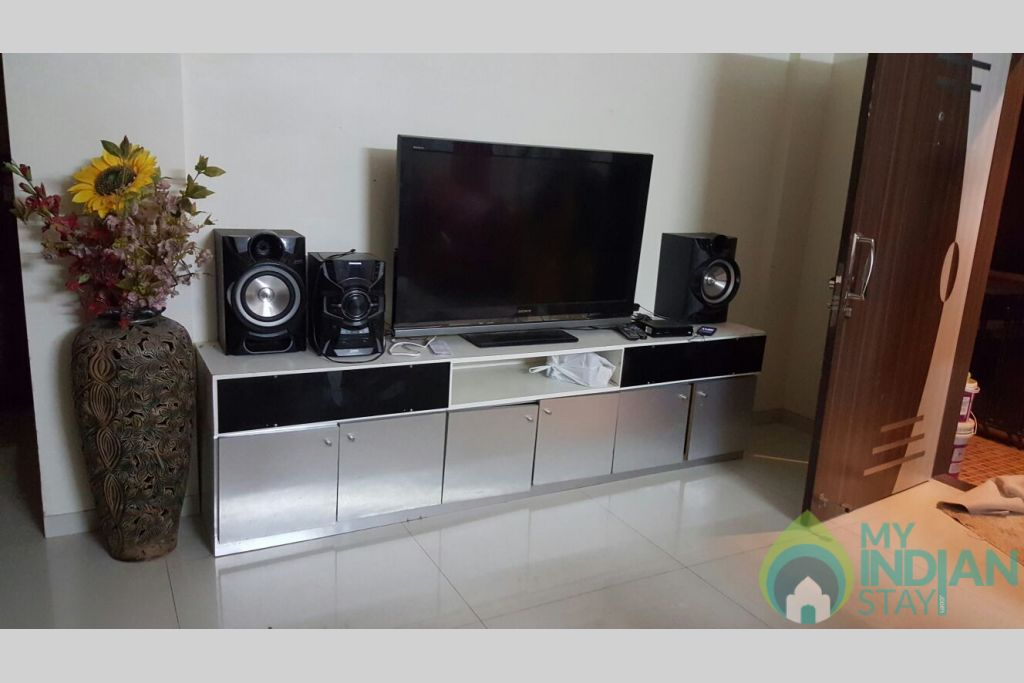LED TV with Music System in a Independent Bungalow in Lonavala, Maharashtra